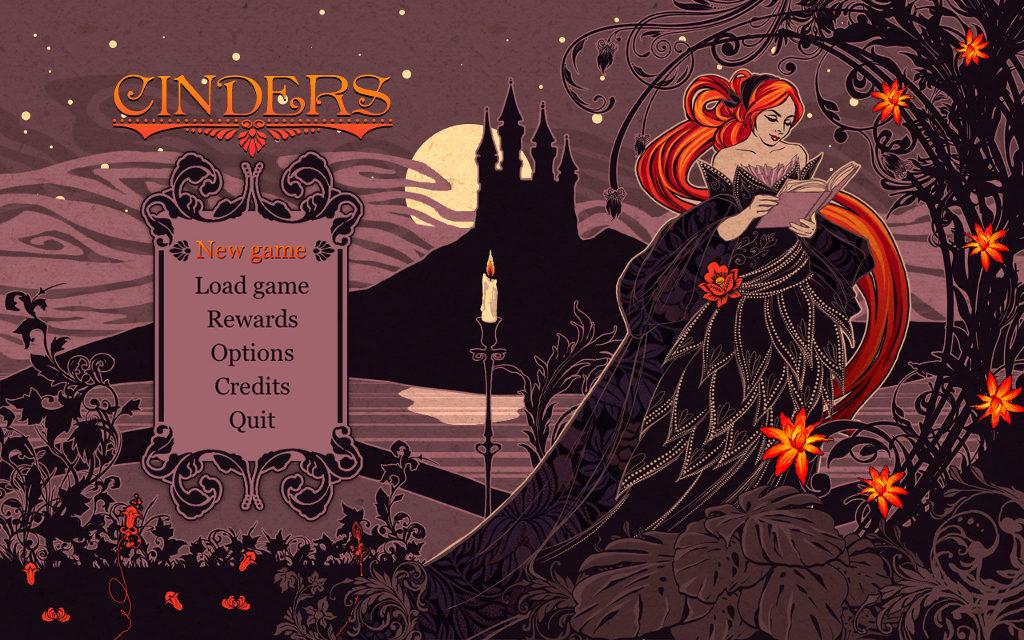Cinders menu