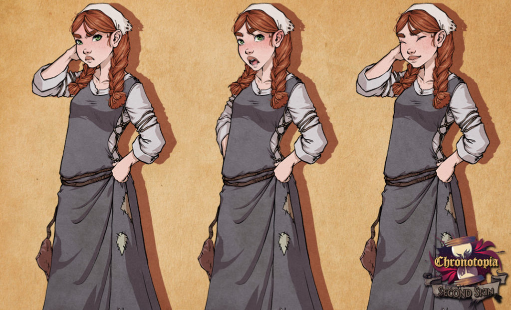 Fleur's in-game sprite, by Anako. Isn't she cute?
