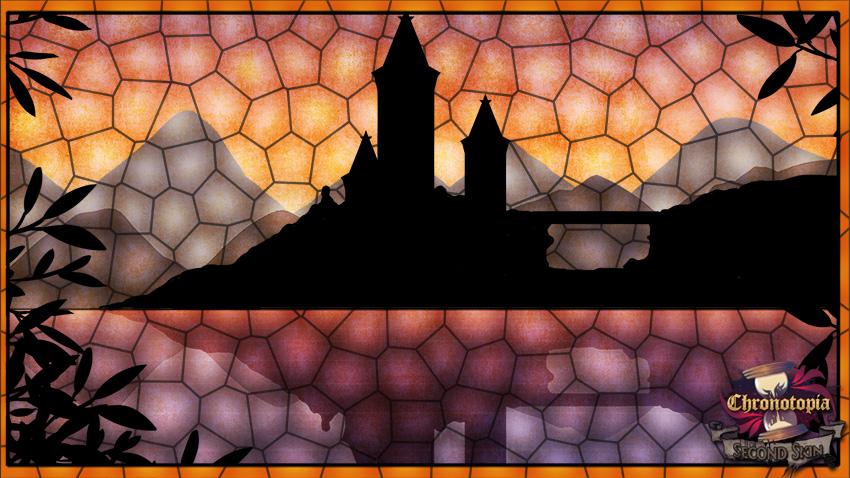 Nous avons quelques illustrations vitrail réalisées par MelowBee pour ajouter au côté conte de fées