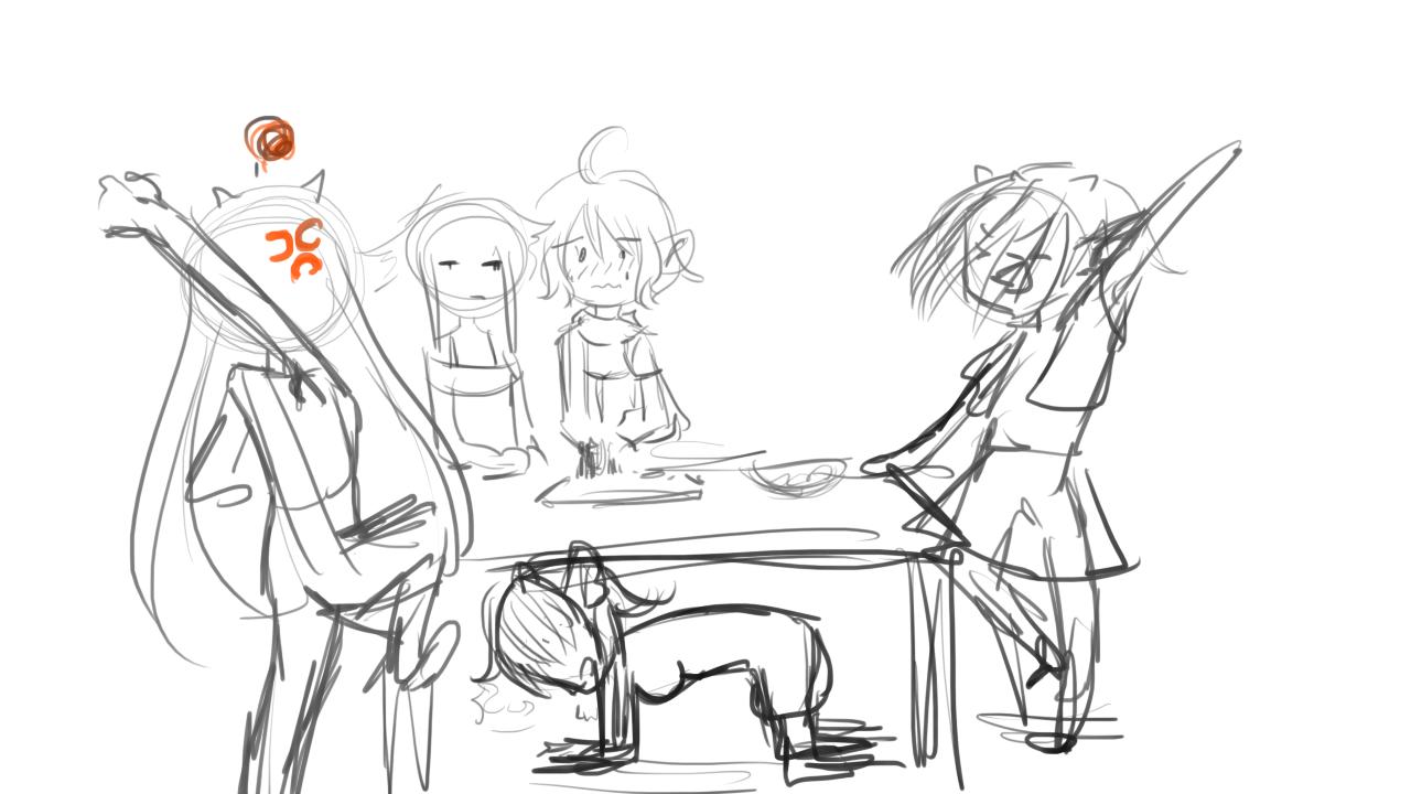 scène cuisine