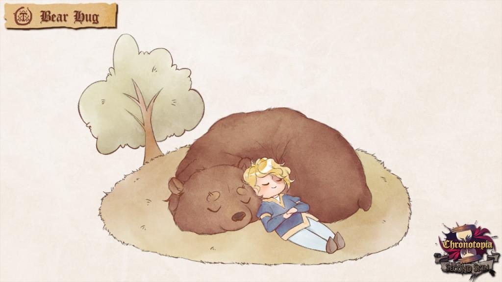 Besoin de réconfort? Heureusement l'ours est là!