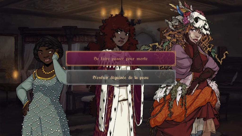 Le tournant décisif : la 2e option sera débloquée dans la version complète du jeu