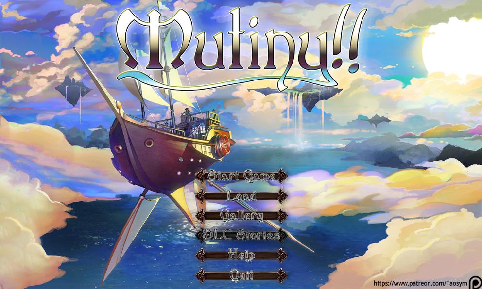 Mutiny main menu